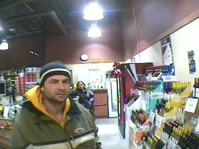 RCMP are hoping the public can help identify this individual, who was caught stealing liquor by staff members at the local Sobey's store