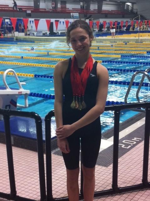 Swimmer Stephanie Churcher