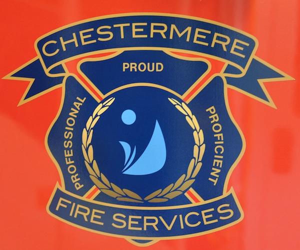 Chestermere Fire Dept logo