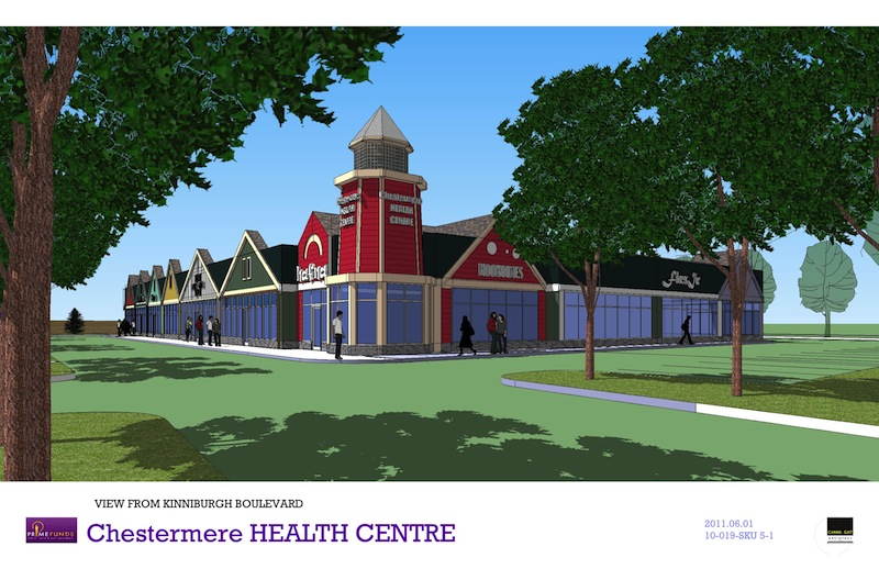 Chestermere Health Centre drawing
