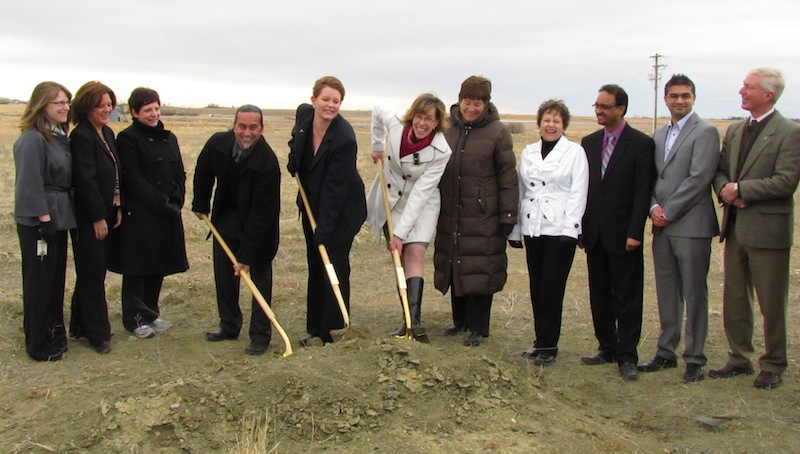 Chestermere Health Centre Ground Breaking Ceremony