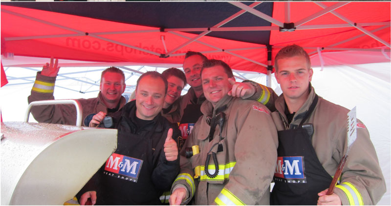 chestermere bbq firefighters