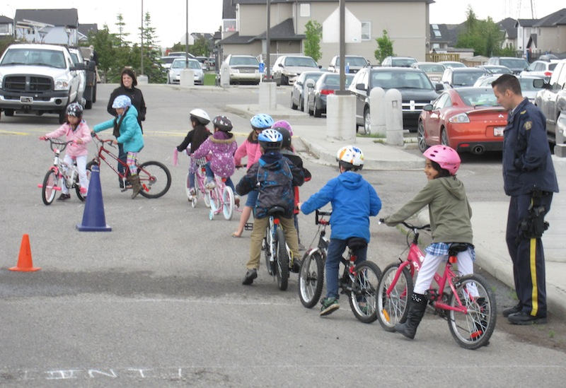 Chestermere Community Services Bike Smart Program