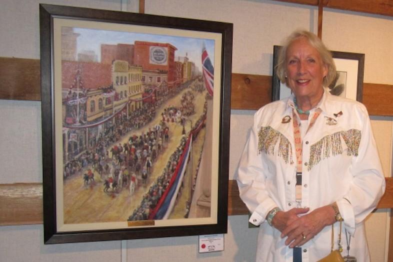 local artist Ellen Lorne