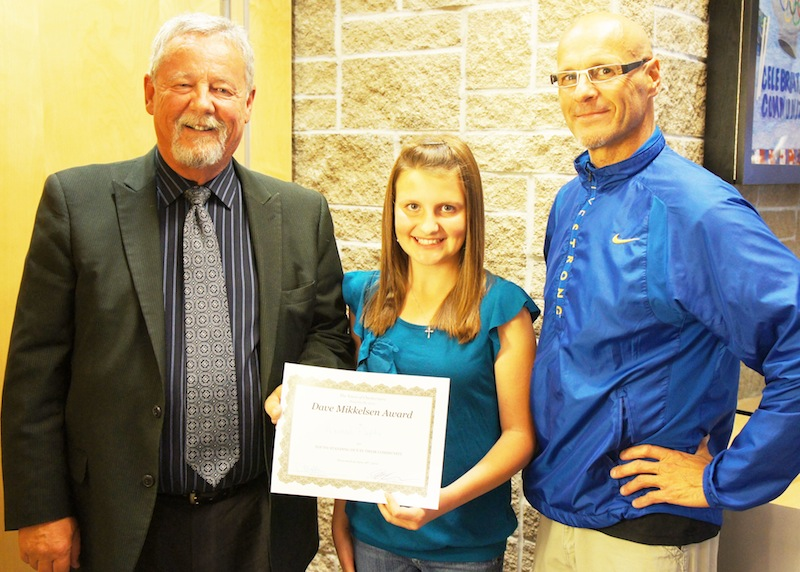 Hannah Papke Dave Mikkelsen Youth Award