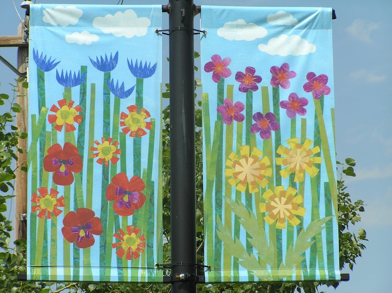 Tulip banners