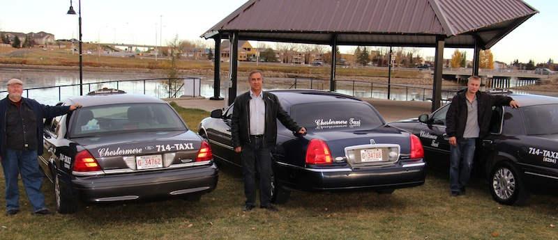 Chestermere Taxi owner