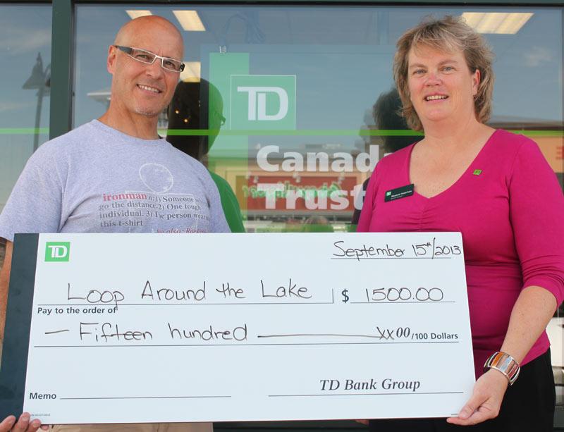 Canada Trust cheque presentation
