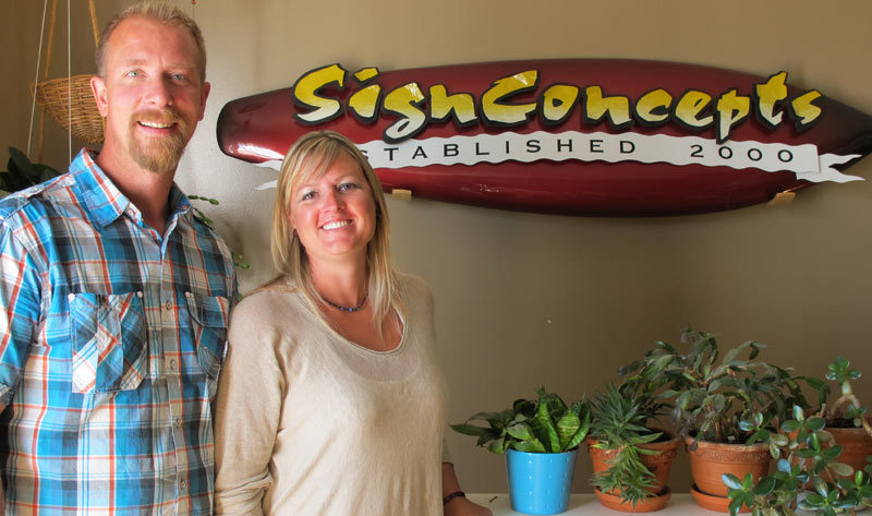 Sign Concepts owners