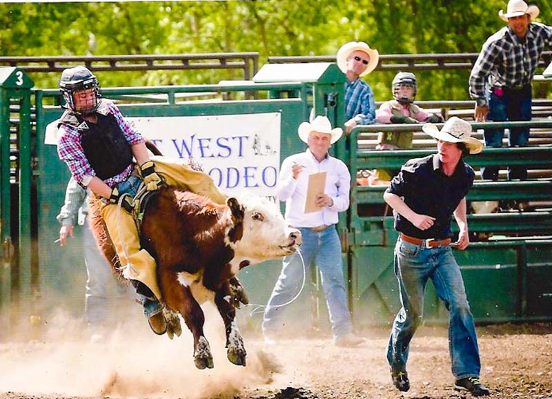 Chestermere Teen Hoping To Hold On In Rodeo The