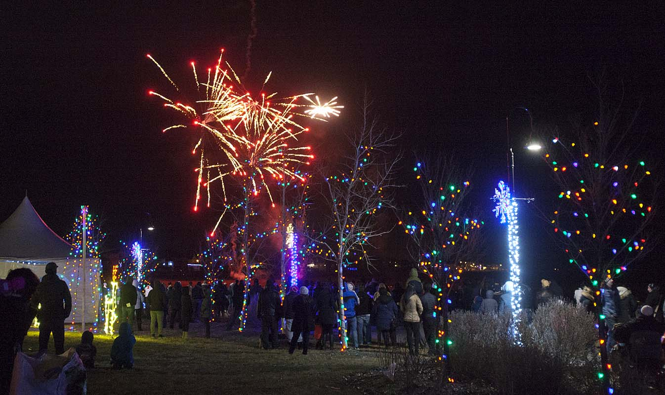 Winter Lights Festival The Chestermere Anchor Weekly