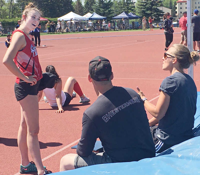 Track Winner: Chestermere High School Athletics May 28