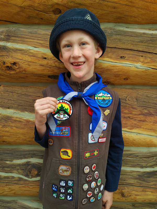 0a5d5ba1 Local Beaver Scout designs crest for Chinook Beaveree   The ...
