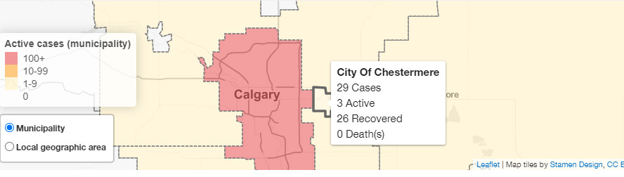 Update 97 Covid 19 Pandemic In Alberta June 23 At 5 P M The Chestermere Anchor Weekly